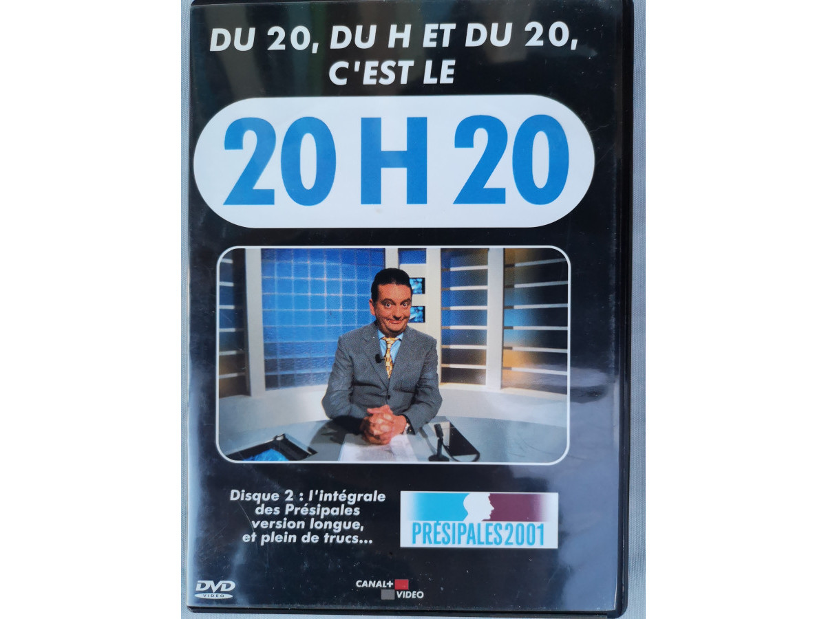 Illustration de DVD : Le 20H20