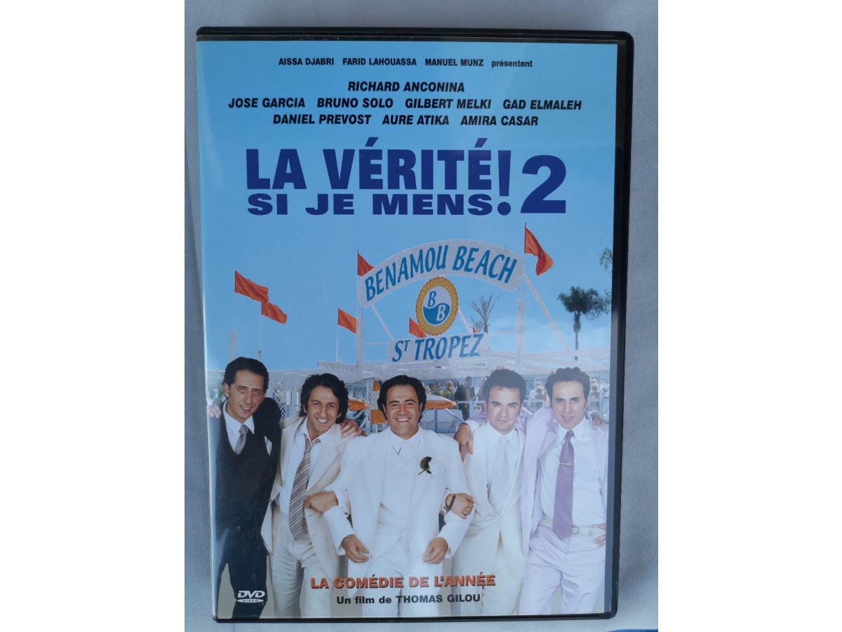 Illustration de DVD : La vérité si je mens 2