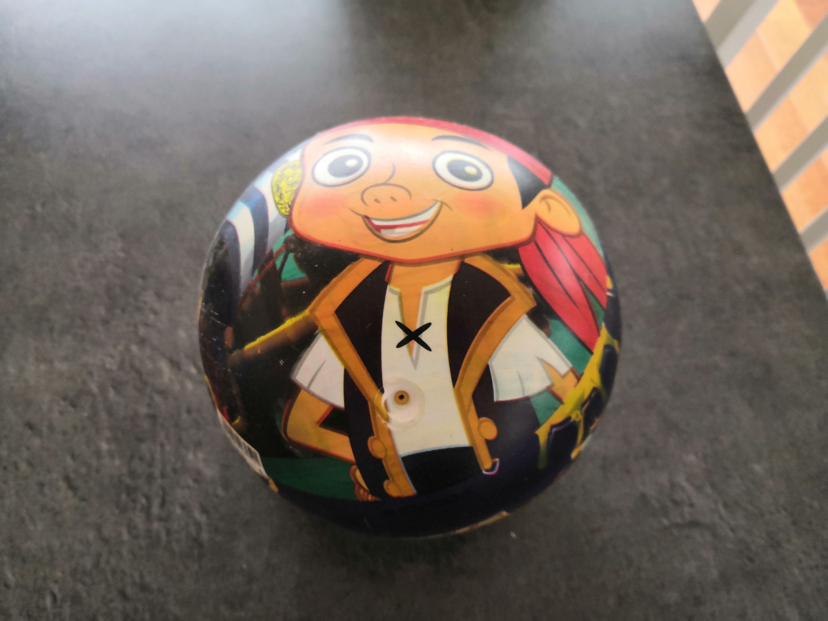 Illustration de Ballon Jack le Pirate