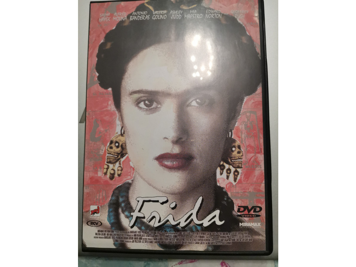 Illustration de Dvd Frida