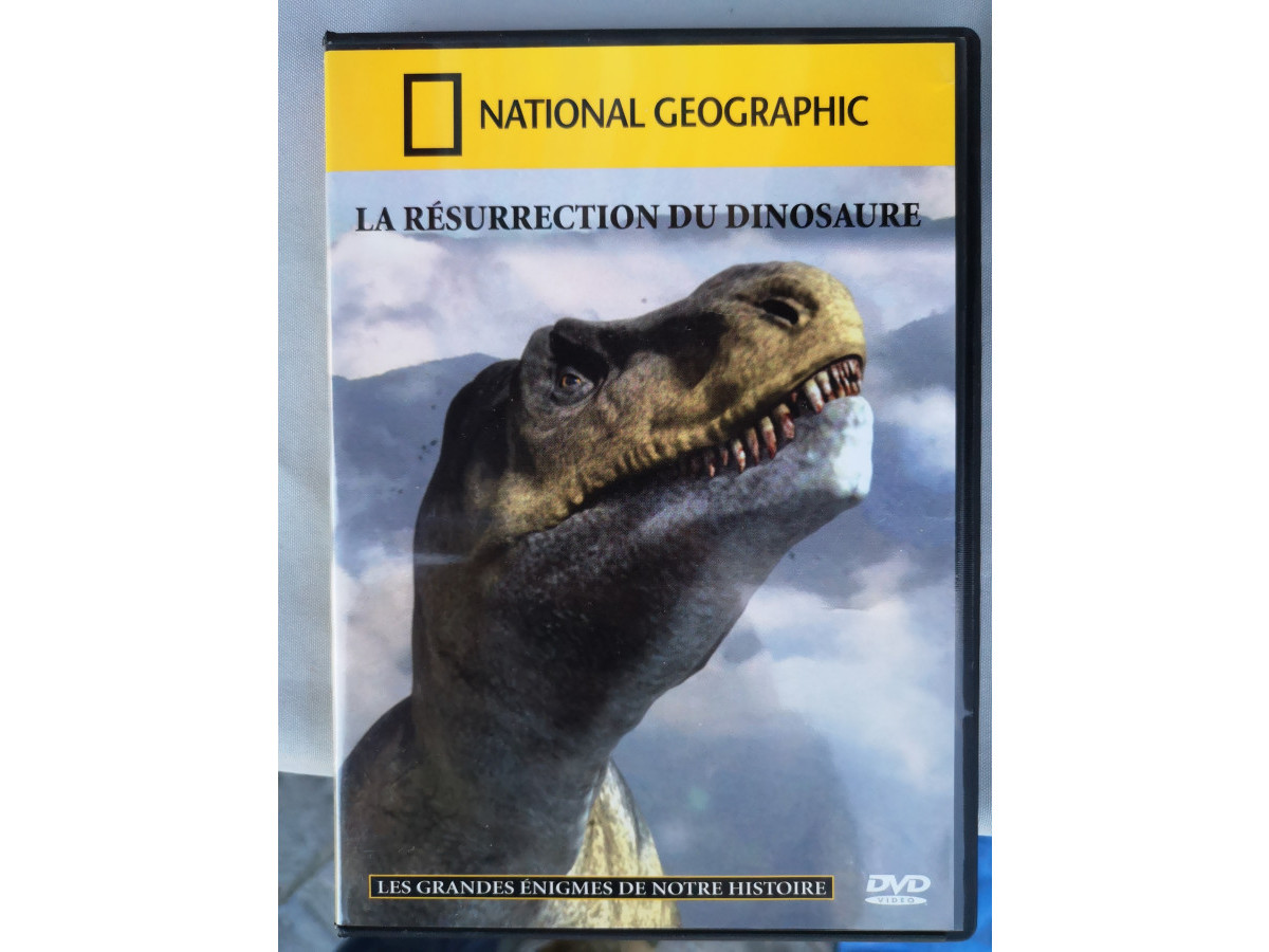 Illustration de DVD : La résurrection du dinosaure